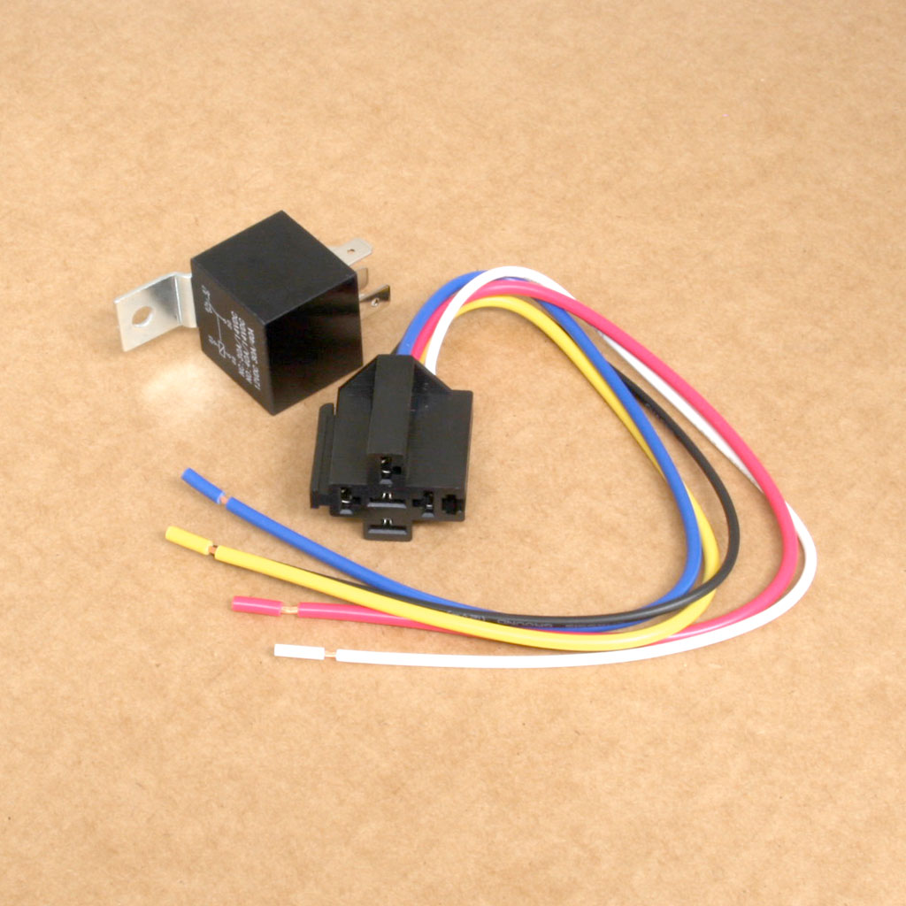 12v Relay 30a Spdt Anchor Electronics Socket Harness Home Relays