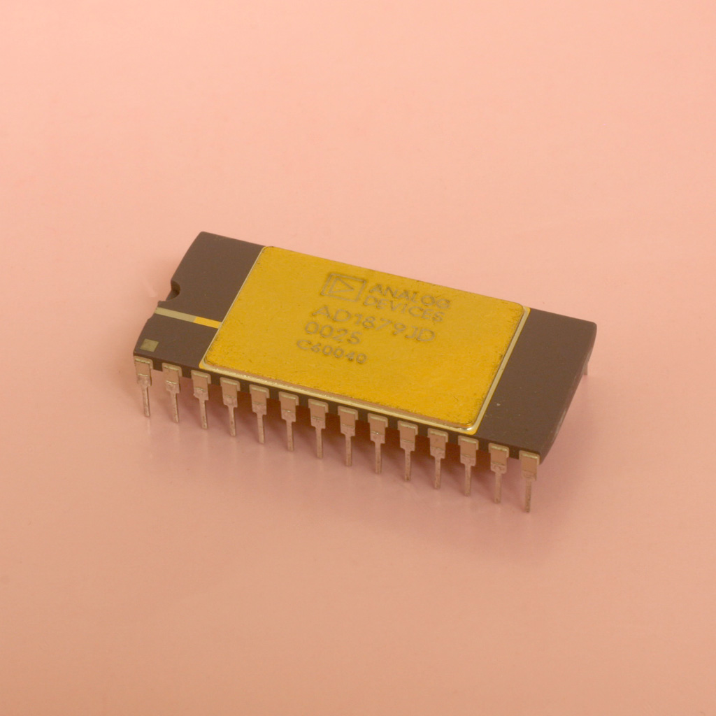 Ad1879jd Analog To Digital Converter Anchor Electronics Converters Microcontrollers